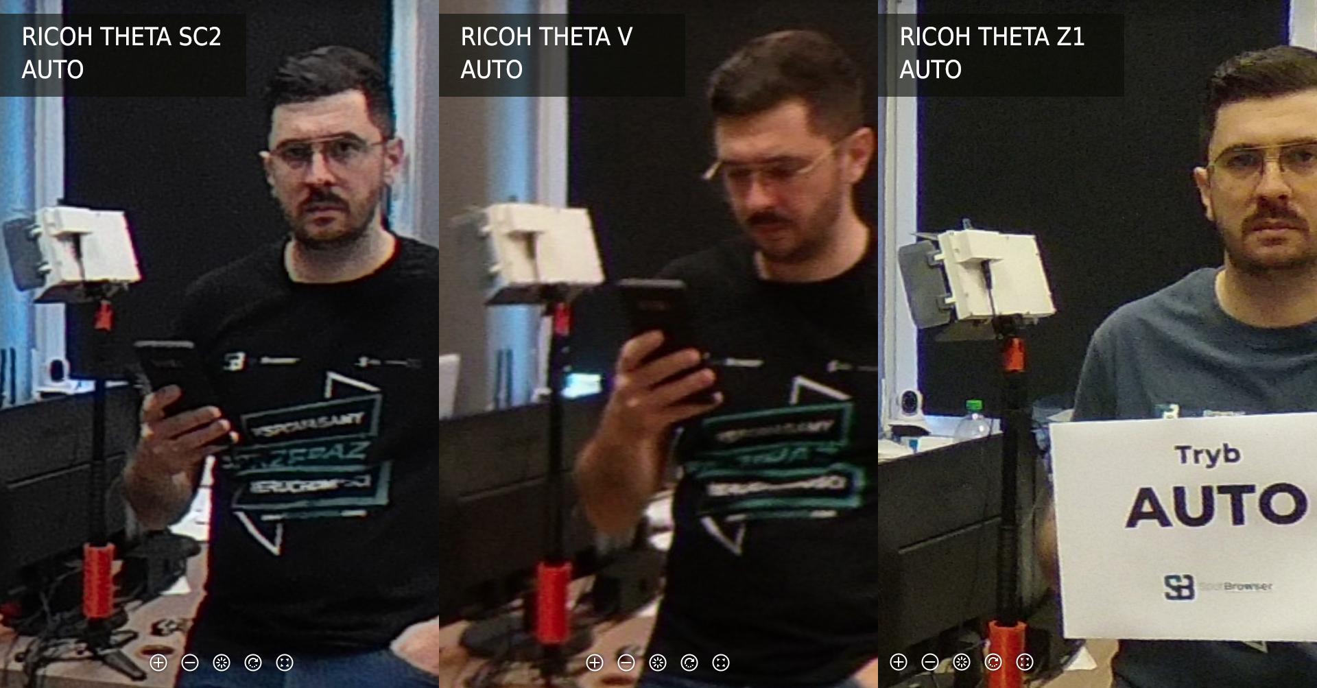 Ricoh Theta SC2 vs V vs Z1